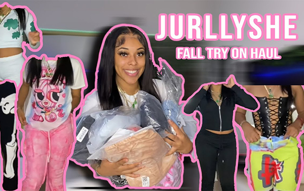 HUGE FALL JURLLYSHE TRY ON HAUL! SWEATS, 2 PIECE SETS, GRAPHIC TEES, JUMPSUITS +MORE   Golden.toned