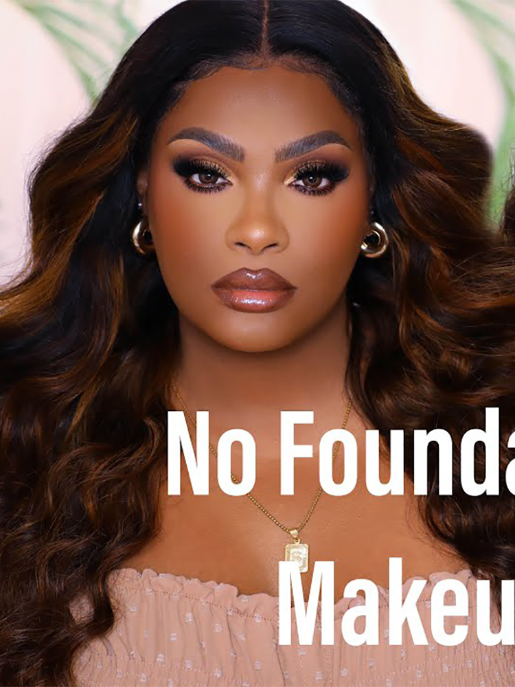 NO FOUNDATION Summertime Makeup | NEW & PERFECT COLOR WIG FOR SUMMER | NATURAL HAIRLINE